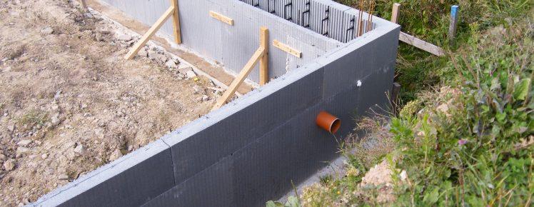Ecopassiv - Vide sanitaire avec chainage de dalle