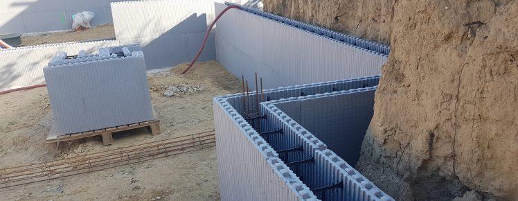 Ecopassiv - Mur de souténement